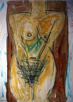 יעקב פורת - טורסו של אישה, 1988